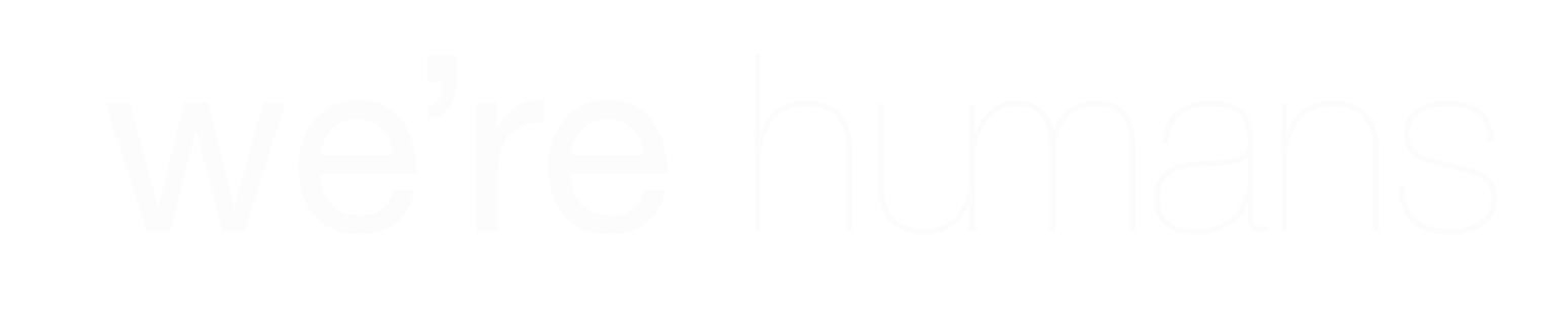 We're Humans logo