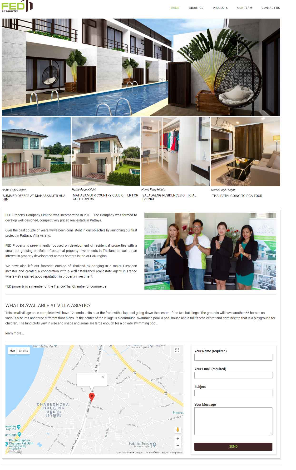 Fedproperty By Villa Asiatic Pattaya