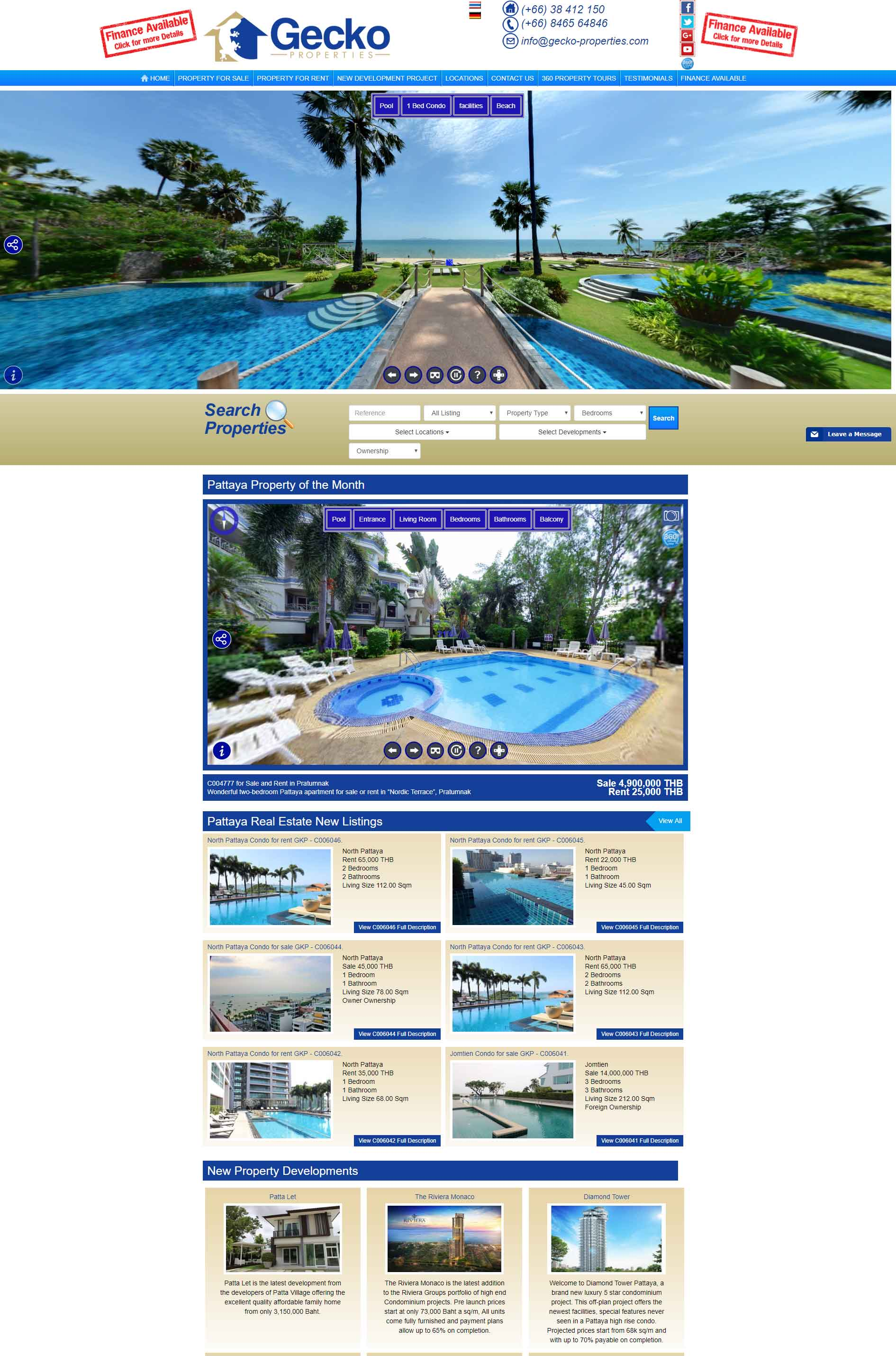 Gecko Properties Pattaya