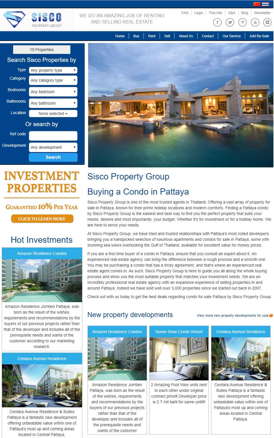 Sisco Property Pattaya