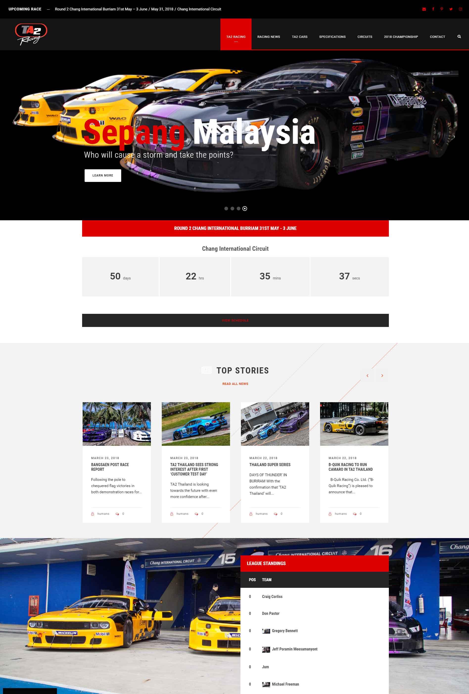 TA2 Racing Thailand Asia